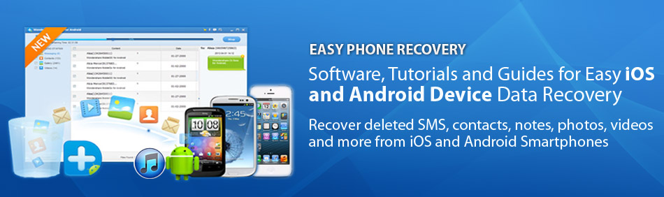 Easy Phone Recovery - Banner