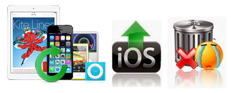 easily recover lost data from iOS device
