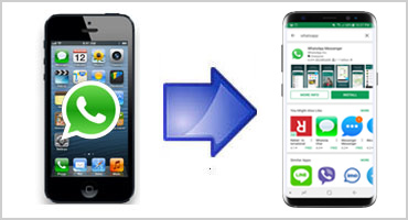 Samsung smart switch whatsapp iphone to android